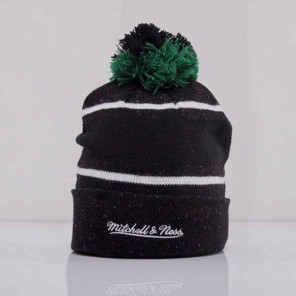 Mitchell & Ness beanie Boston Celtics green Speckled KN40Z