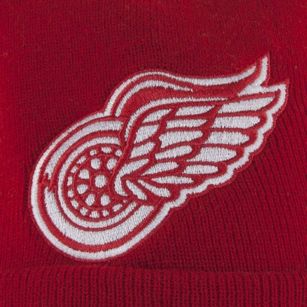 Mitchell & Ness beanie Detroit Red Wings red Jersey Stripe with bobble KC84Z