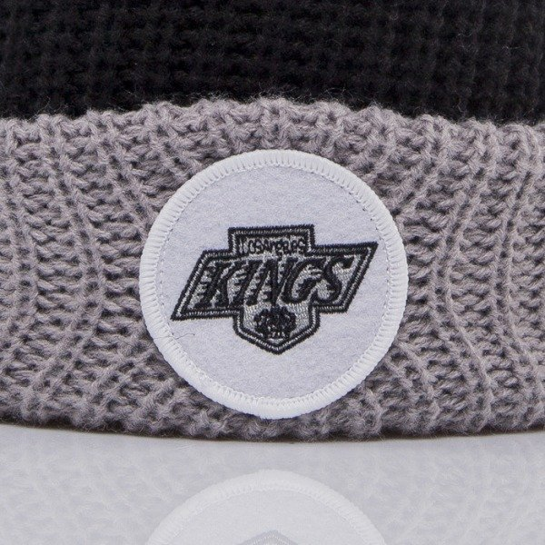 Mitchell & Ness beanie Los Angeles Kings black Retro Patch KN33Z