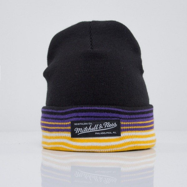 Mitchell & Ness beanie Los Angeles Lakers black Headline EU256