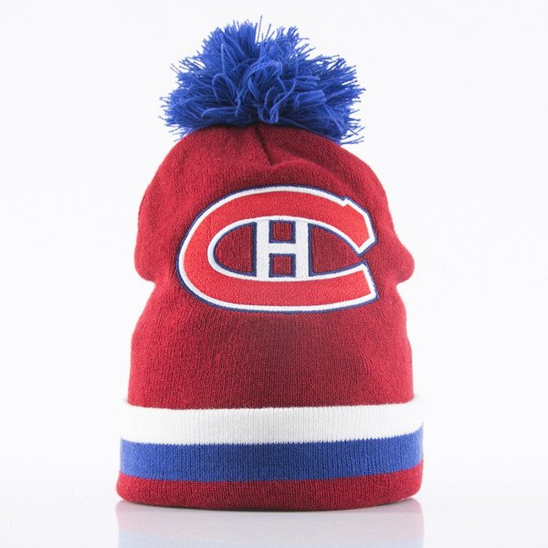 a2550f2d89d Mitchell   Ness beanie Montreal Canadiens red Jersey Stripe KC84Z ...