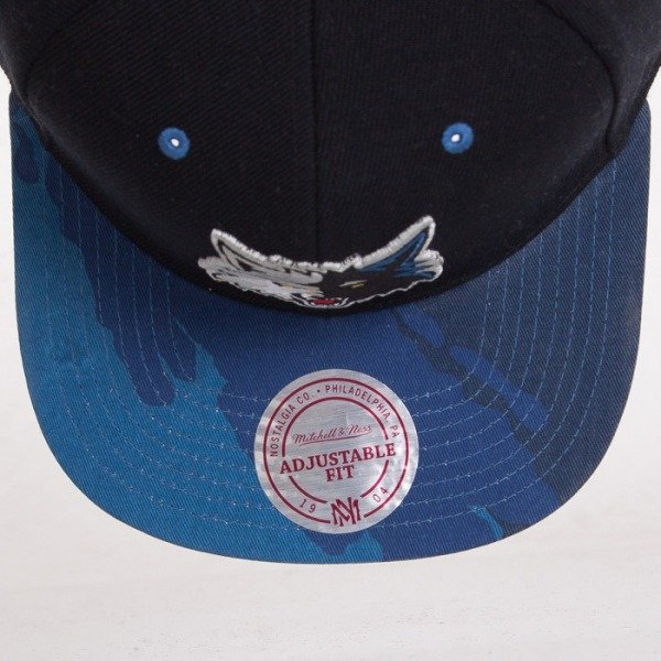 Mitchell & Ness cap Minnesota Timberwolves black Paint Brush EU149