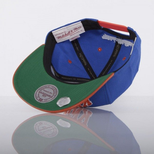 Mitchell & Ness cap New York Knicks blue  MVP EU282