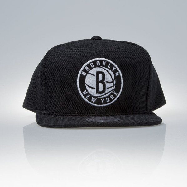Mitchell & Ness cap snapback Brooklyn Nets black SS EU847