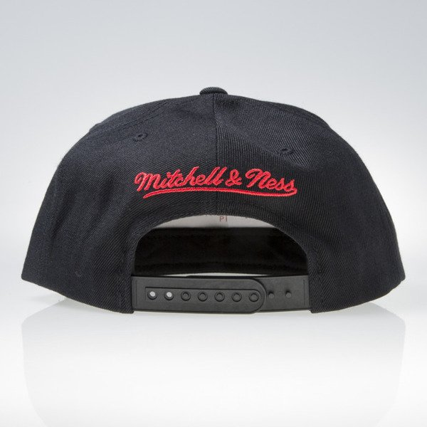 Mitchell & Ness cap snapback Chicago Blackhawks black GOTHAM CITY VW50Z