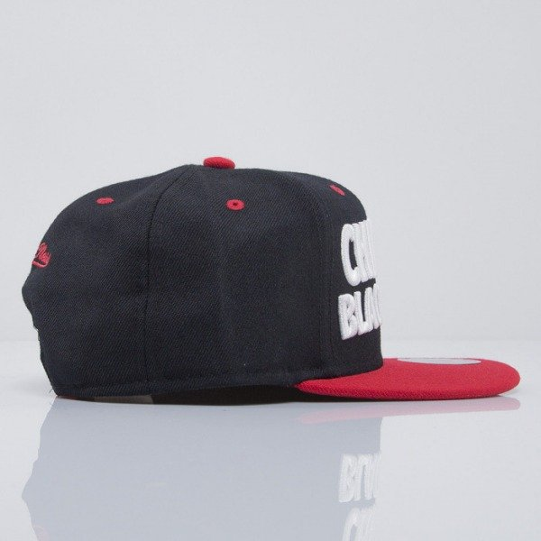 Mitchell & Ness cap snapback Chicago Blackhawks black Score EU300