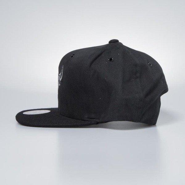 bbbe83b921a ... Mitchell   Ness cap snapback Chicago Bulls black Terrain ...