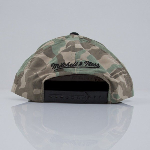 Mitchell & Ness cap snapback Chicago Bulls camo Distinguished American VF16Z