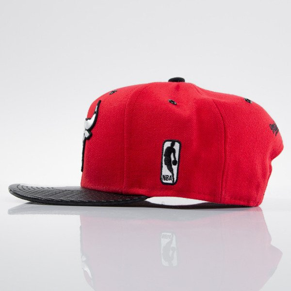 Mitchell & Ness cap snapback Chicago Bulls red EU501 SPEEDWAY