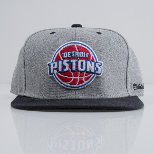 Mitchell & Ness cap snapback Detroit Pistons heather grey EU438 BACKBOARD