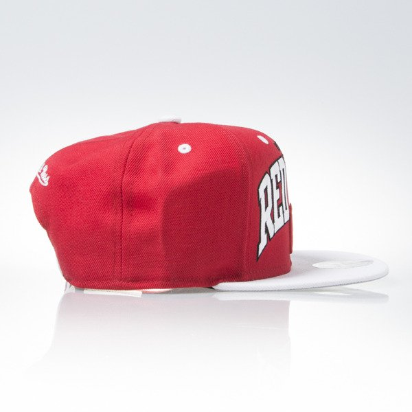 Mitchell & Ness cap snapback Detroit Red Wings red TEAM ARCH ND12Z