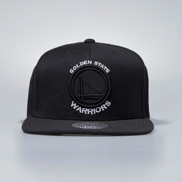 Mitchell & Ness cap snapback Golden State Warriors black Full Dollar