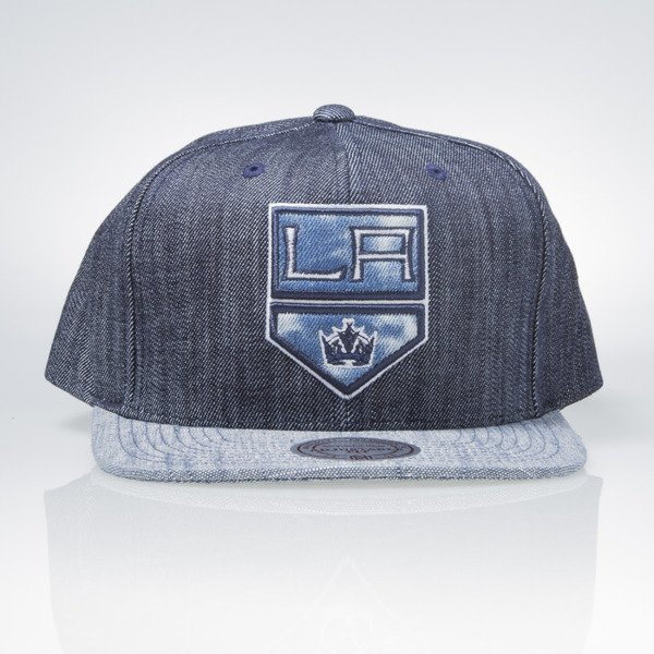 Mitchell & Ness cap snapback Los Angeles Kings blue Blue Linen VR15Z