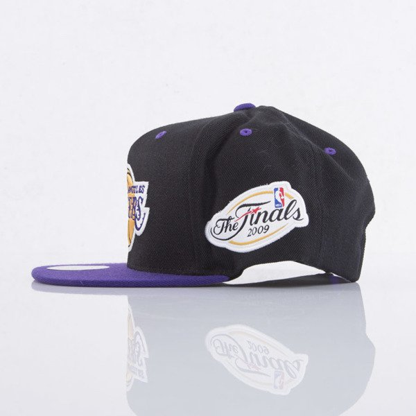Mitchell & Ness cap snapback Los Angeles Lakers black Championship VJ83Z