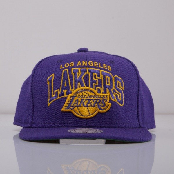 Mitchell & Ness cap snapback Los Angeles Lakers purple On Point EU240