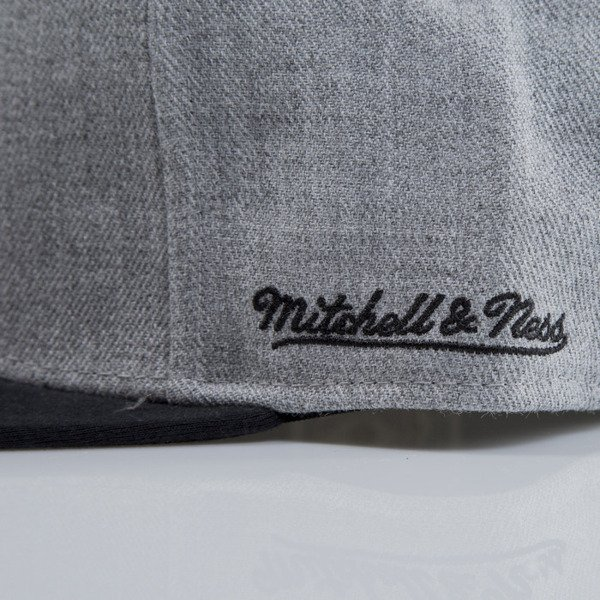 Mitchell & Ness cap snapback Miami Heat heather grey EU438 BACKBOARD