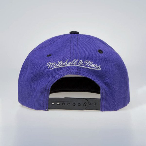 Mitchell & Ness cap snapback Milwaukee Bucks purple HWC Zig Zag SB