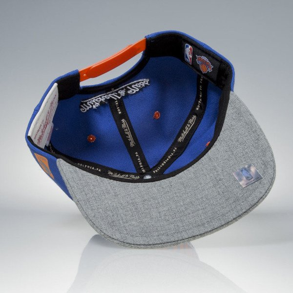 Mitchell & Ness cap snapback New York Knicks blue / grey Greytist EU938