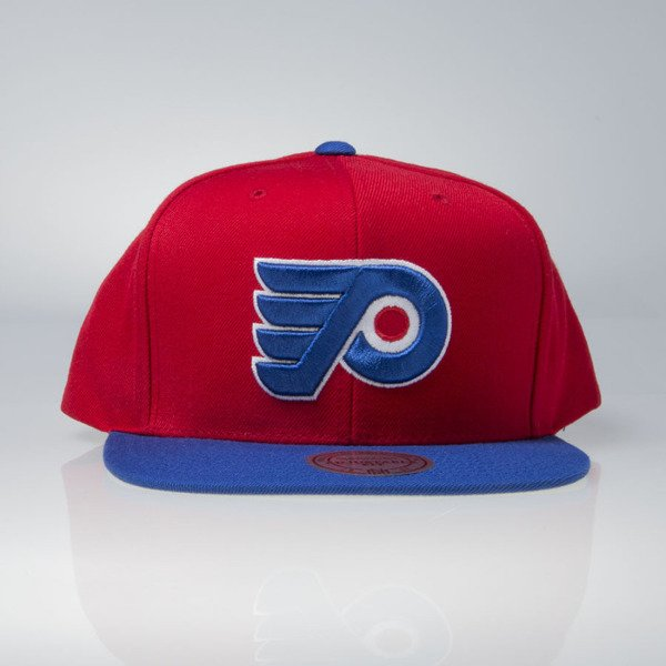 Mitchell & Ness cap snapback Philadelphia Flyers red / blue Current Throwback EU956