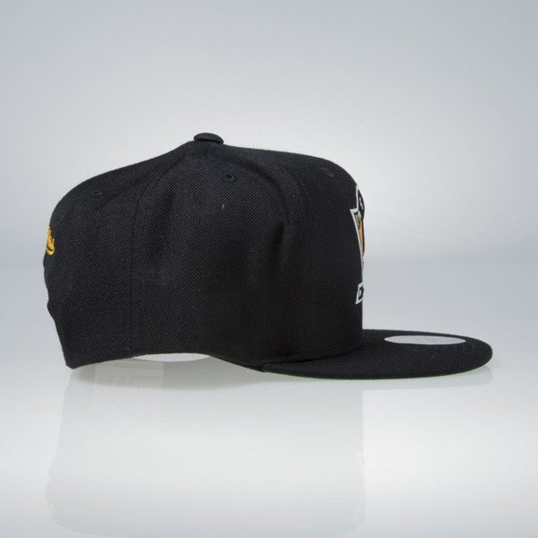 Mitchell & Ness cap snapback Pittsburgh Penguins black Wool Solid / Solid 2 NT80Z