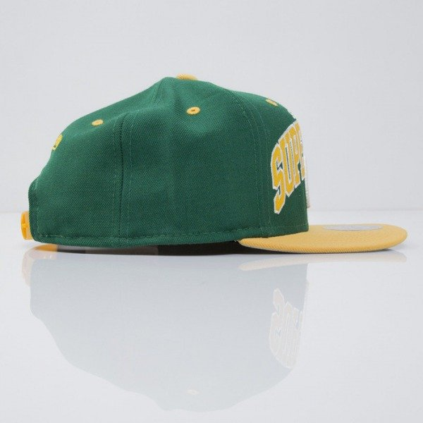 Mitchell & Ness cap snapback Seattle Supersonics green Team Arch NA80Z