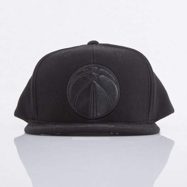 Mitchell & Ness cap snapback Washington WIzards black Black Out EU783