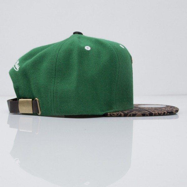 Mitchell & Ness cap strapback Boston Celtics green The Archives VE38Z