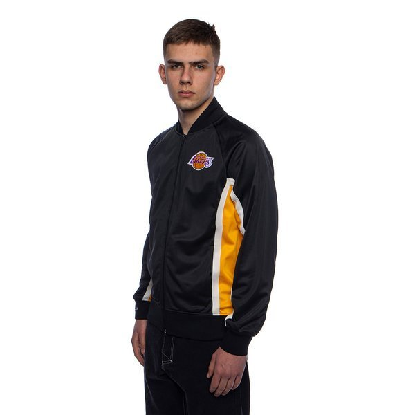 Mitchell & Ness jacket Los Angeles Lakers black ...