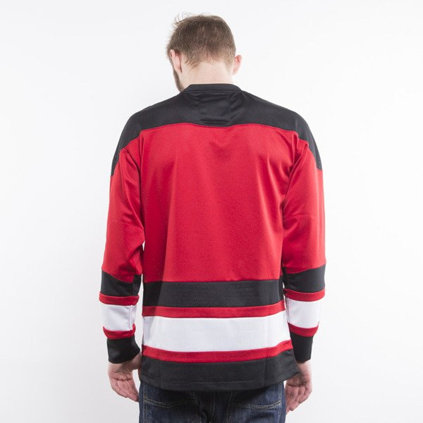 Mitchell & Ness longsleeve Chicago Bulls black / red Mesh Longsleeve