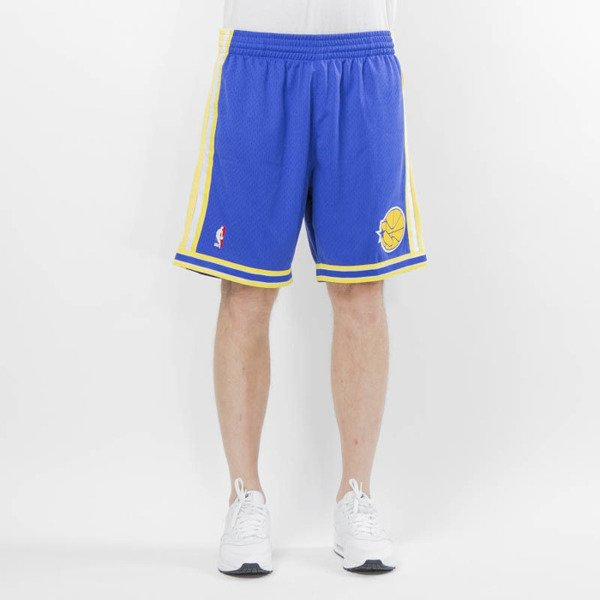 Mitchell & Ness shorts Golden State Warriors royal Swingman Shorts