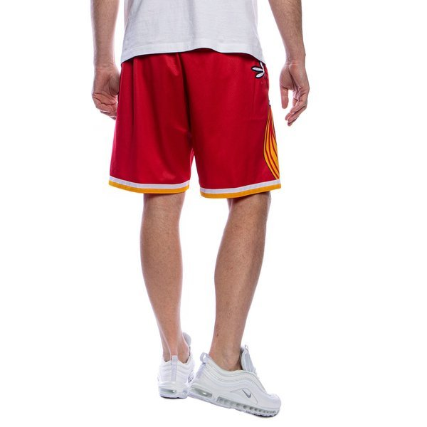 Mitchell & Ness shorts Houston Rockets red Big Face Short