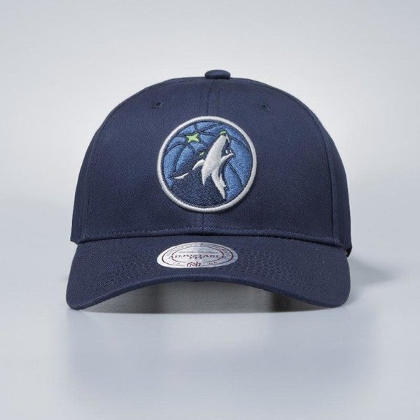 Mitchell & Ness snapback Minnesota Timberwolves navy Team Logo Low Pro