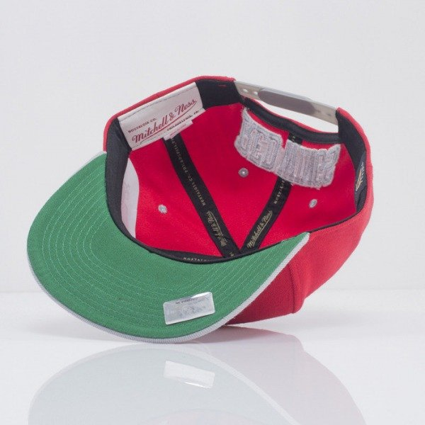 Mitchell & Ness snapback Red Wings red Flipside EU239