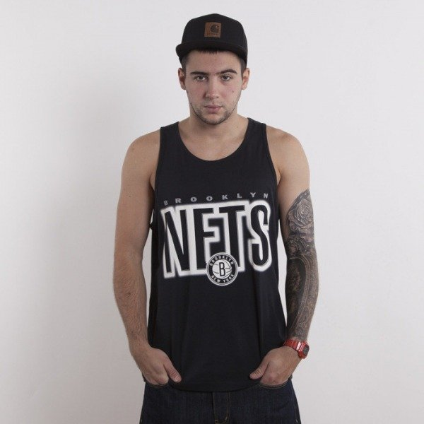 Mitchell & Ness t-shirt Brooklyn Nets black tank top Retro Blur