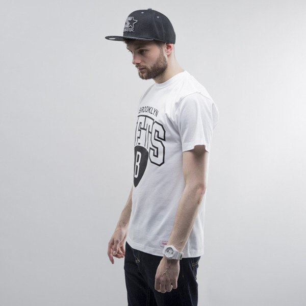 Mitchell & Ness t-shirt Brooklyn Nets white Team Arch