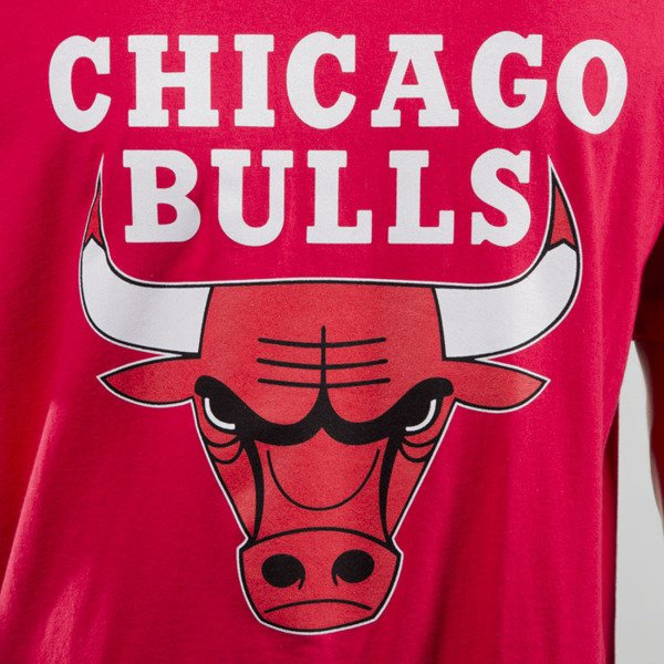 Mitchell & Ness t-shirt Chicago Bulls red Team Logo Traditional