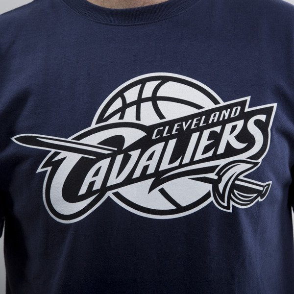 Mitchell & Ness t-shirt  Cleveland Cavaliers navy Black and White Logo Traditional