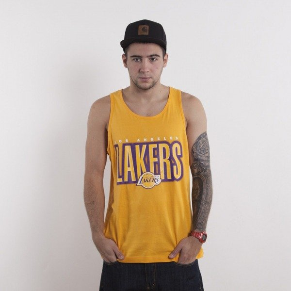 Mitchell & Ness t-shirt Los Angeles Lakers yellow tank top Retro Blur
