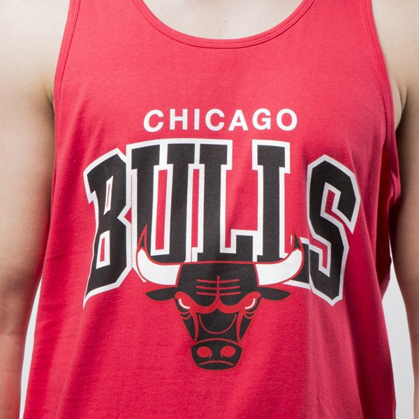Mitchell & Ness tank top Chicago Bulls red Team Arch