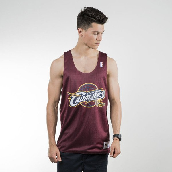 Mitchell & Ness tank top Cleveland Cavaliers burgundy / navy REVERSE MESH