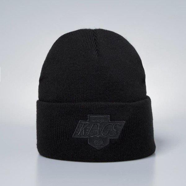 Mitchell   Ness winter beanie Los Angeles Kings Beanie black Champ Cuff  Knit  23a7cf09949