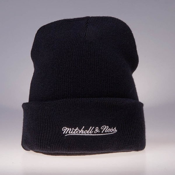 Mitchell & Ness winter beanie Washington Capitals navy Team Logo Cuff Knit