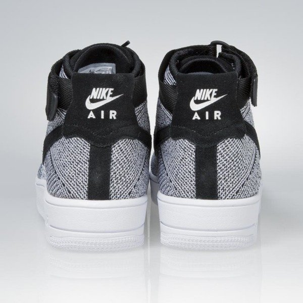 Nike Air Force 1 Ultra Flyknit Mid black / black-white 817420-005