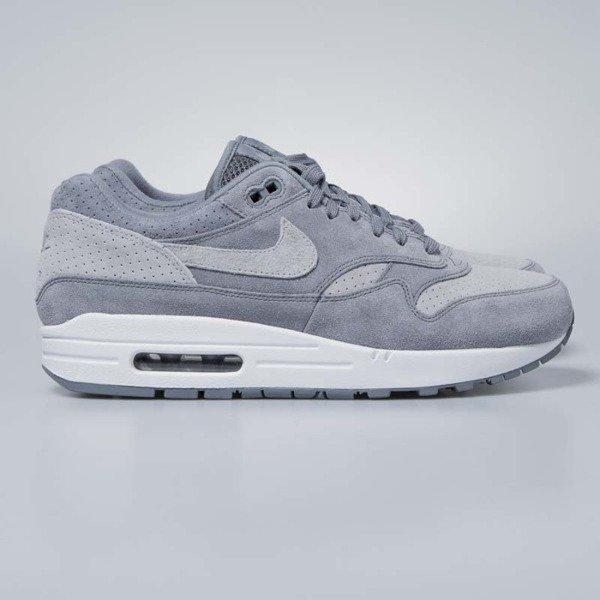5bea291bdf8 Nike Air Max 1 Premium cool grey   wolf grey - white 875844-005 ...