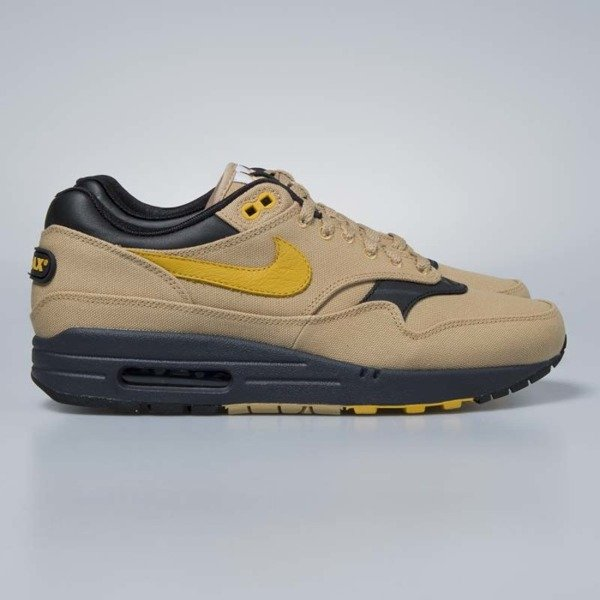 2f04ed7087 Nike Air Max 1 Premium elemental gold / mineral yellow 875844-700 ...