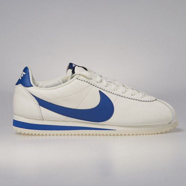 8f1464c42a33 Nike Classic Cortez Leather SE sail   blue jay 861535-102 ...