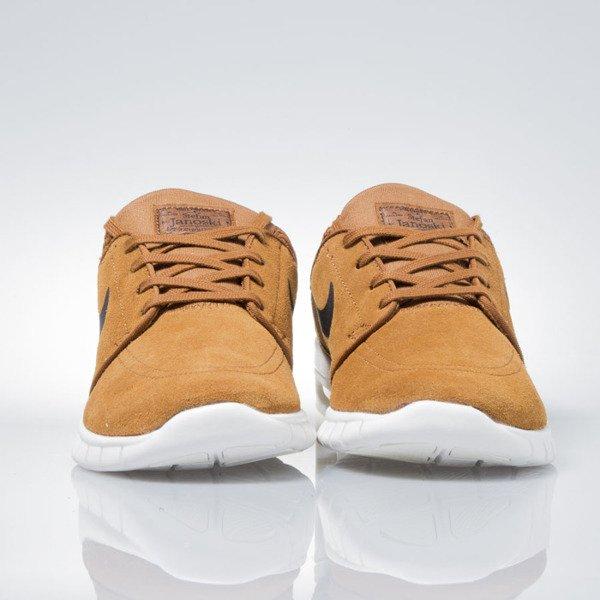 new style 33fd7 d9c98 ... Nike SB Stefan Janoski Max Leather hazelnut   black-ivory 685299-201 ...