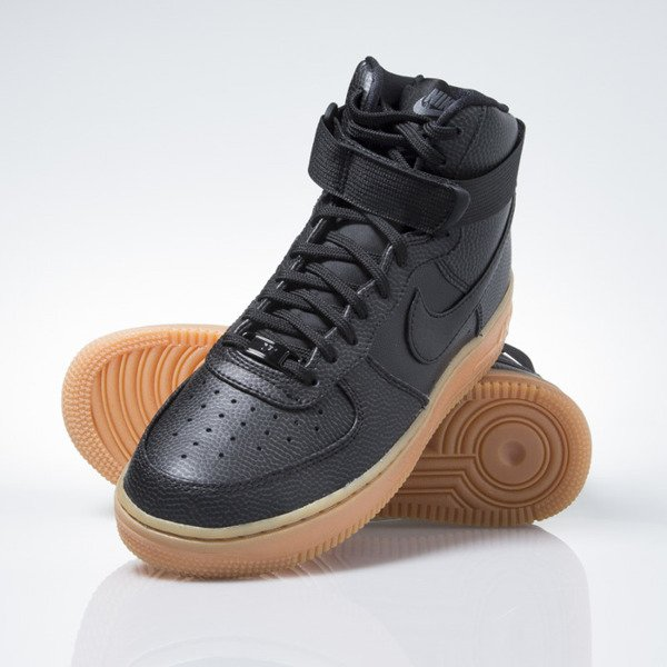 the best attitude 17364 1664b ... Nike WMNS Air Force 1 Hi Se black   black-dark grey (860544- ...