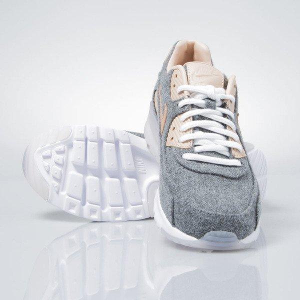 Nike WMNS Air Max 90 Ultra Premium cool grey vachetta tan white 859522 001
