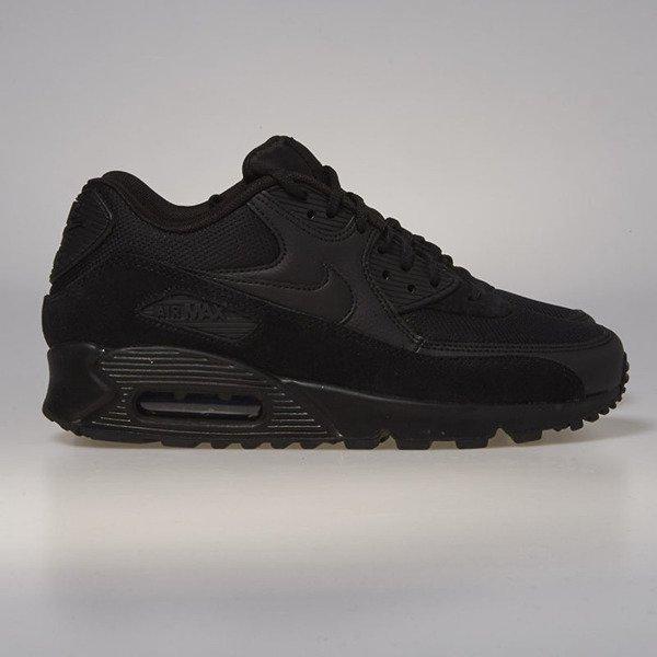 big sale a3a3d cedc4 Nike WMNS Air Max 90 black   black - black 325213-043 ...